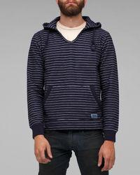 Freshjive | Blue Lodger Stripe Hoody for Men | Lyst