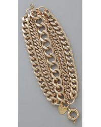 Giles & Brother | Metallic Giant Multi Chain Bracelet | Lyst