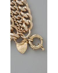 Giles & Brother | Metallic Giant Multi Chain Bracelet | Lyst