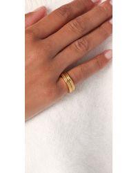 Gorjana | Metallic Wish Ring Set | Lyst