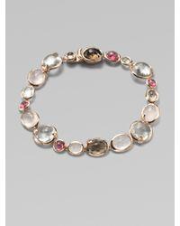 Ippolita | Metallic 18k Gold & Sterling Silver Semi-precious Multi-stone Bracelet | Lyst