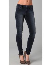 Joe's Jeans | Blue Velvet Skinny Pants | Lyst