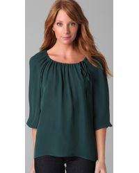 Joie - Green June Blouse - Lyst