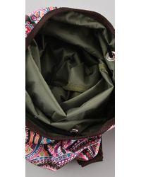LeSportsac - Purple Escapade Asana Yoga Bag - Lyst