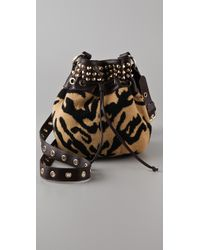 M Missoni | Multicolor Studded Tiger Cross Body Bag | Lyst