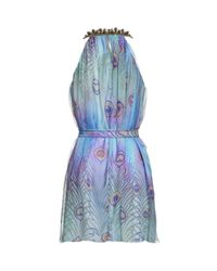 Matthew Williamson | Blue Beaded Dress | Lyst
