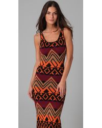 Torn By Ronny Kobo - Brown Alice Native Knit Maxi - Lyst