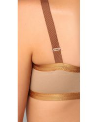 VPL | Metallic Insertion Bra | Lyst