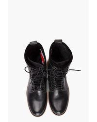G-Star RAW - Black Zephyr Havilland Clip Boot for Men - Lyst