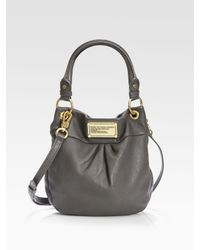 Marc By Marc Jacobs | Black Classic Q Mini Hillier Hobo Bag | Lyst
