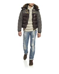 Moncler | Black Anthime Padded Jacket for Men | Lyst