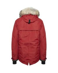 Moncler | Red Servance Hooded Jacket for Men | Lyst