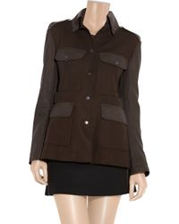 Rag & Bone - Brown Leigh Wool and Leather Safari Jacket - Lyst