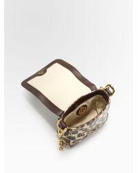 Tory Burch | Multicolor Robinson Square Patent Leather Mini Bag | Lyst