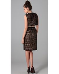Marc By Marc Jacobs | Black Dahlia Solid Lace Dress | Lyst