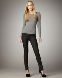 7 For All Mankind - Black The Skinny Skytrooper Jeans - Lyst
