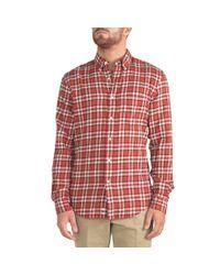 Aspesi - Red Shirt for Men - Lyst