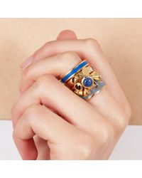 Astley Clarke - Blue Fanfair Ring - Lyst