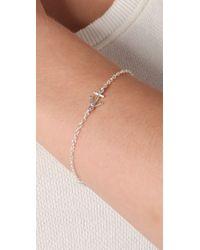 Gorjana | Metallic Anchor Bracelet | Lyst