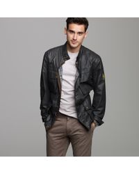 J.Crew | Black Belstaff® Trialmaster Jacket for Men | Lyst