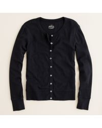 J.Crew | Black Perfect-fit Cardigan | Lyst