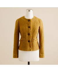 J.Crew | Brown Vintage Tweed Jacket | Lyst