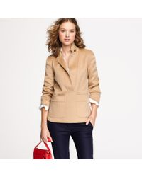 J.Crew | Natural Double-faced Cashmere Popover | Lyst