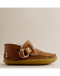 J.Crew | Brown Quoddy® Shearling-lined Ring Boots | Lyst