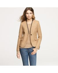 J.Crew | Natural Library Blazer | Lyst