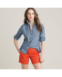 J.Crew | Red 5 Chino Short | Lyst