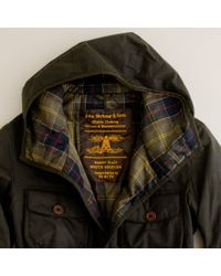 J.Crew | Green Barbour® X To Ki To Hooded Hunter Jacket for Men | Lyst