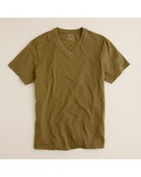 J.Crew | Green Broken-in V-neck Tee for Men | Lyst