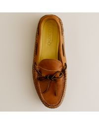 J.Crew | Brown Mens Quoddy® Grizzly Moccasins for Men | Lyst