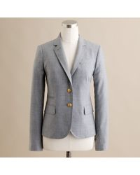 J.Crew | Gray Schoolboy Blazer in Wool Flannel | Lyst