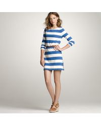 J.Crew | Blue Maritime Dress | Lyst