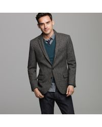 J.Crew | Gray Harrington Birds-eye Tweed Sportcoat in Ludlow Fit for Men | Lyst
