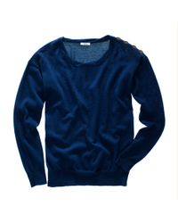 Madewell | Blue Sweatshirt Sweater | Lyst