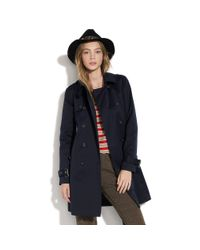 Madewell | Blue Hampstead Trench | Lyst