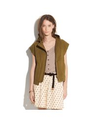 Madewell | Green Windy Valley Jacket | Lyst