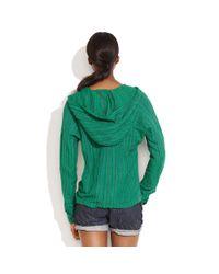 Madewell - Green Ace & Jig™ Baja Hoodie - Lyst