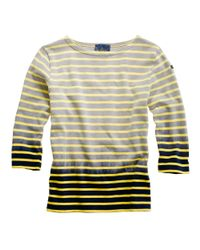Madewell | Yellow Share With...le Minor® Dip-dyed Tee | Lyst