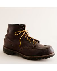 J.Crew | Brown Red Wing® For J.crew Sandblasted Classic Boots for Men | Lyst