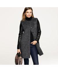 J.Crew | Gray Montmartre Coat | Lyst