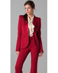 Rachel Zoe | Red Basic Tailor Tux Jacket | Lyst