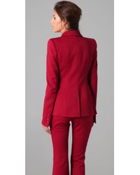 Rachel Zoe | Red Basic Tailor Tux Jacket | Lyst