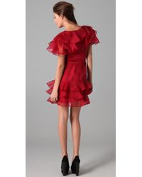 Rachel Zoe | Ginger Tiered Ruffle Dress | Lyst