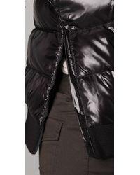 Theory - Black Liyala Pullover Puffer Coat - Lyst
