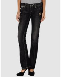 Guess | Black Guess - Denim Pants | Lyst