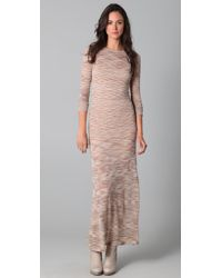 James Long | Natural Striped Dress | Lyst