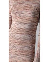 James Long - Natural Striped Dress - Lyst